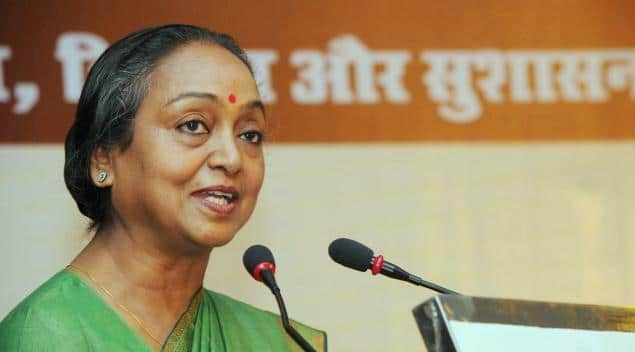 Meera Kumar Congress leader