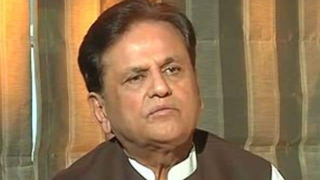 JD (U) leader goes Ahmed Patel