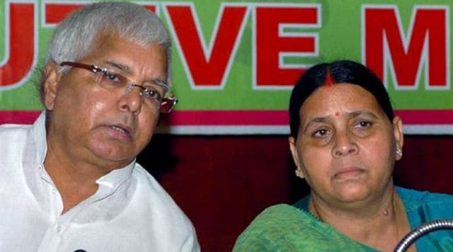 Lalu Yadav Rabri Devi rejected demand leader opposition