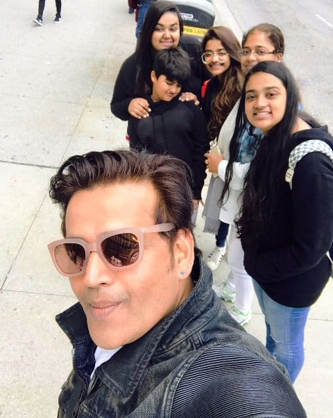 Ravi Kishan wife and Children